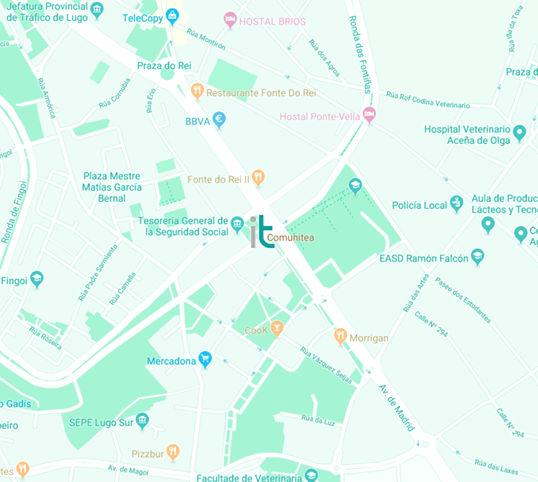 Mapa Comunitea